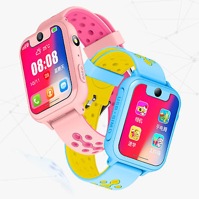 Smart Watch with LBS GSM Locator Tracker SOS Call Flashlight Kids Children 2018
