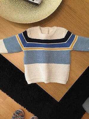 NEXT BABY BOYS JUMPER 6-9 months, new, no tags