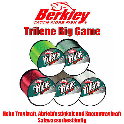 1m=0,01€ Berkley Trilene Big Game 600 - 1000m - monofile Schnur vers. Sorten NEU
