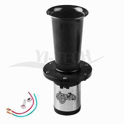 12V 110DB Antique Vintage Boat Old Style For Auto Car Truck Loud Alarm Horn BLK