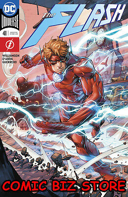 Flash #41 (2018) 1St Printing Variant Cover Dc Universe Rebirth Bagged & Boarded