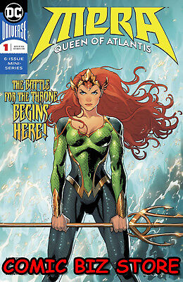 Mera Queens Of Atlantis #1 (Of 6) (2018) 1St Printing Dc Universe