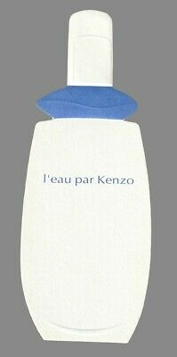 Carte Publicitaire - advertising card -  Eau par kenzo
