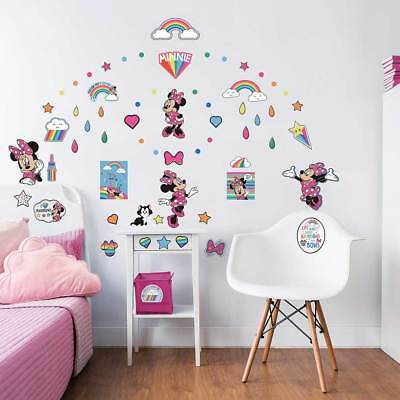 Walltastic Wandsticker Disney Minnie Mouse Wandtattoo Kinderzimmer NEUHEIT