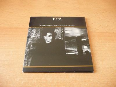 Single CD U2 - Where the streets have no name - 1987