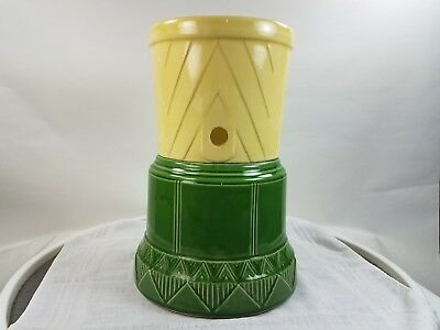 Early Green River Soda Pottery Art Deco Fountain Dispenser Chicago Prohibition