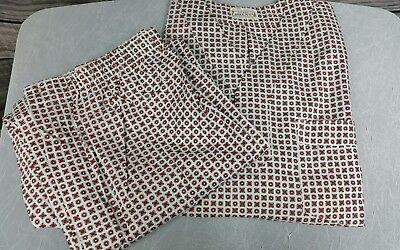 VTG Brent 2pc Pajamas Men's PJs Shirt Pants Cotton Sanforized Small NWOT