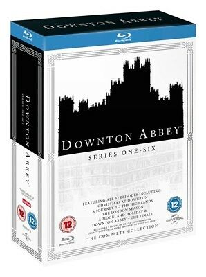 Downton Abbey Complete Series 1 - 6 Blu-ray
