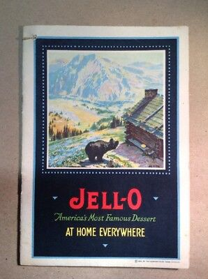 JELL-O Advertising Brochure  1922 FREE SHIPPING  INV-P111