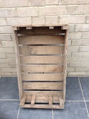 Vintage Wooden Potato Chitting Tray Crate