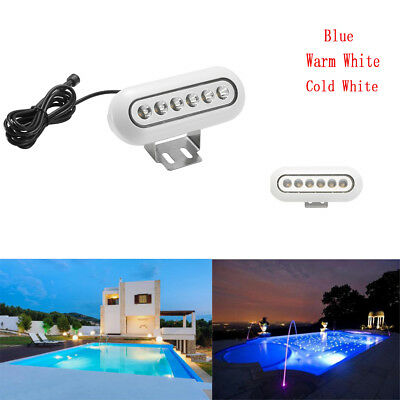 DC12V Underwater Led Boat Lights IP68 for Swimming Pool Ponds Fish Tank Lights