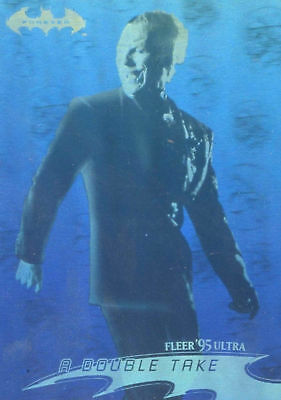 1995 Fleer Ultra DC Batman Forever Movie Hologram chase card # 23 of 36