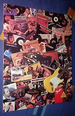 Fender 1988 Stratocaster Brochure Catalog Spec Sheet Genuine Vintage!!!