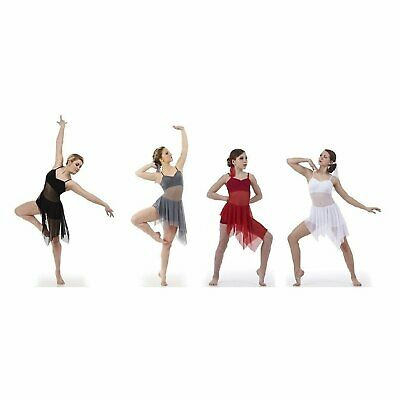 S16-232   OFFSET in Black LYRICAL / CONTEMPORARY DANCE COSTUME