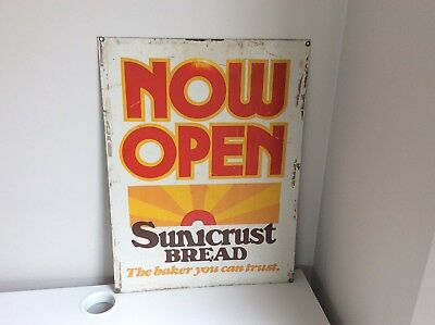 Vintage Tin Milk bar Sign Sunicrust