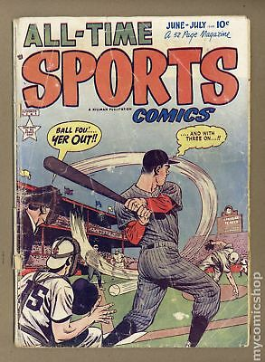 All Time Sports Comics #5 1949 FR/GD 1.5