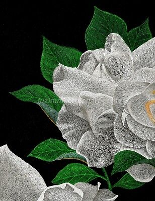 $50.00 OFF - Nature 2pc Set Gardenia ORIG Pointillism Canson paper 8.5x11 by LVZ