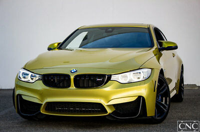 2015 BMW M4 Coupe 2015 BMW M4 Coupe in Austin Yellow Metallic / 22,363 Miles CNC Motors California