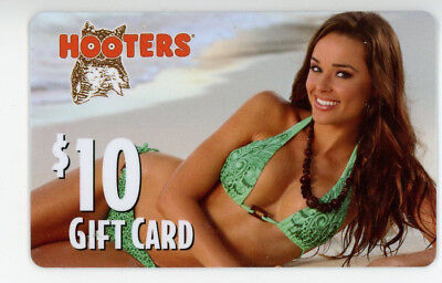 Hooters Gift Card - Collectible - no $$ value remaining on cards
