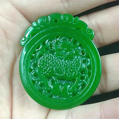 2018 china hand carved green jade pendant necklace amulet 2018 china hand carved green jade pendant necklace amulet aloadofball Gallery