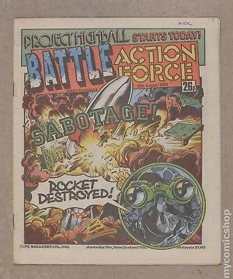 Battle Picture Weekly (UK) #860830 1986 VG/FN 5.0