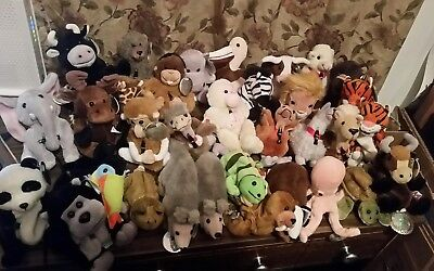 Coca-Cola Coke International Lot of 33 Bean bag plush animals from 1999