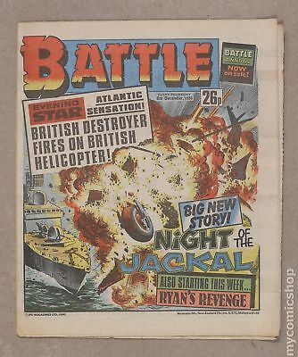 Battle Picture Weekly (UK) #861206 1986 FN/VF 7.0