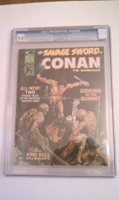 The Savage Sword Of Conan #3 Comic Cgc 9.4 1974