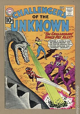 Challengers of the Unknown (DC 1st Series) #21 1961 VG- 3.5