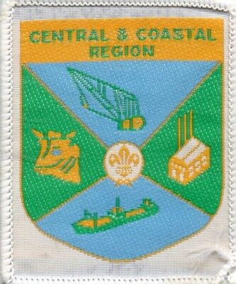 Qld Scout Badge  Central And Coastal