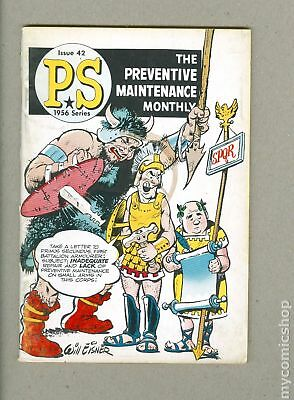 PS The Preventive Maintenance Monthly #42 1956 GD/VG 3.0