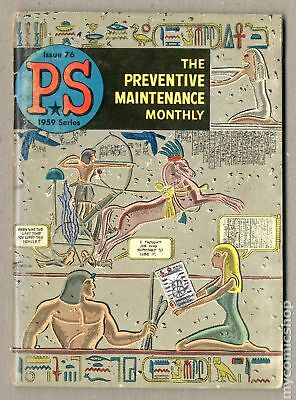 PS The Preventive Maintenance Monthly #76 1959 VG- 3.5