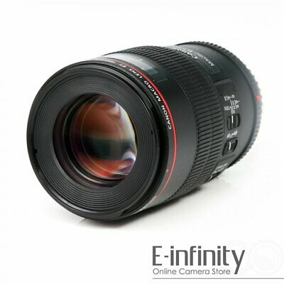 NEW Canon EF 100mm f/2.8L Macro IS USM Lens