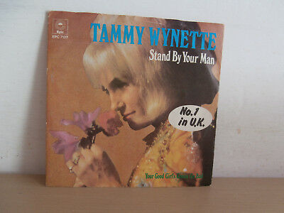 7 inch Vinyl        TAMMY WYNETTE               ***STAND BY YOUR MAN***