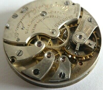 high grade pocket watch movement longines lyban boros working very rare 30mm
