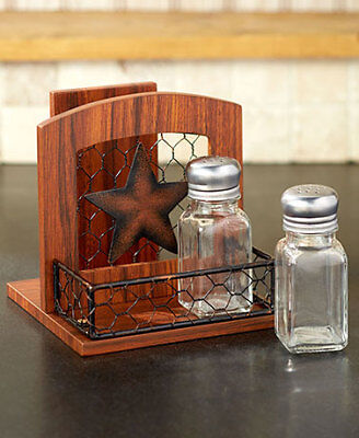Country Star Napkin Holder Primitive Rustic Country Kitchen Home Decor