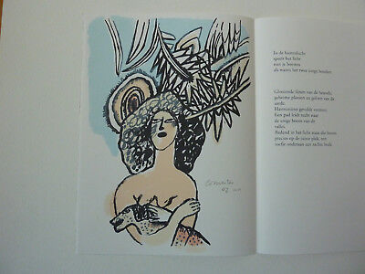 ++ CORNEILLE  aus: 'JOURNAL DE LA TOUR', ORIGINALFARBSIEBDRUCK + sign. + num. ++