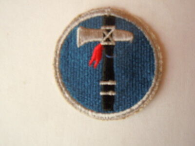 US Army patch XIX Corps cut edge orig. WWII