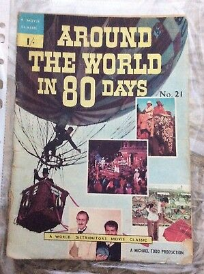 A World Distributors Movie Classic #21 Around the World Inn 80 Days David Niven
