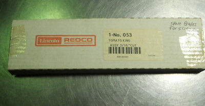 Lincoln Redco 3/16' replacement blades for Tomato King slicer