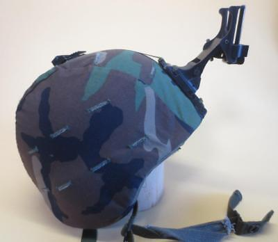 Ground Troops Parachutist PASGT Military Issue Helmet w/ NVG Night Vision Mount
