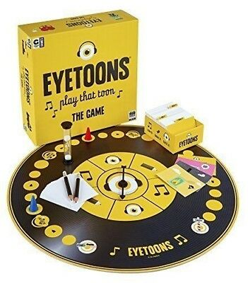 Eyetoons: Play that Toon The Board Game
