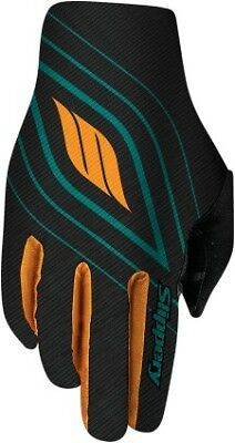 Slippery Flex Lite Gloves Teal Green/Orange/Black