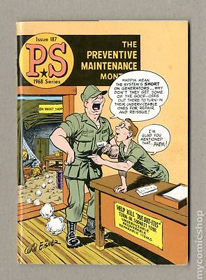 PS The Preventive Maintenance Monthly #187 1968 VG/FN 5.0