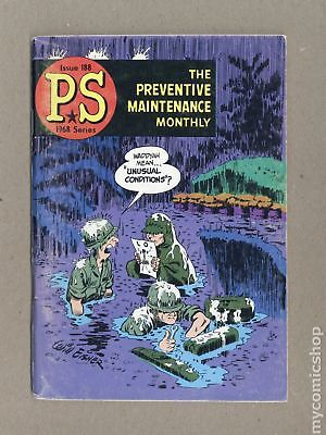 PS The Preventive Maintenance Monthly #188 1968 VG/FN 5.0