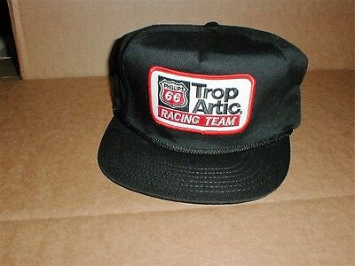 Phillips 66 Trop Artic gasoline oil vintage made in USA trucker hat cap patch