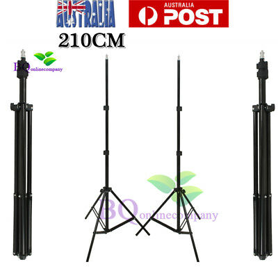 Photo Studio 210cm Tall Light Stand Tripod for Video Lighting Flash Umb Stand