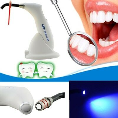 Dental 5W Wireless Cordless LED Curing Light Lamp 1500mw 2200mAh Battery 2018