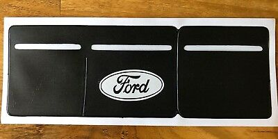 1 x Car Van Road Tax,  Insurance, NCT Disc Holder Black New Wallet for Ford