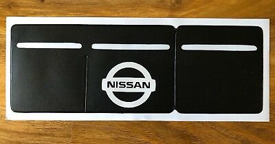 1 x Car Van Road Tax,  Insurance, NCT Disc Holder Black New Wallet For Nissan
